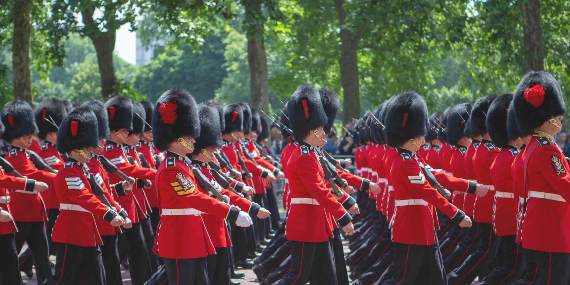 Queen's Guard Marching
